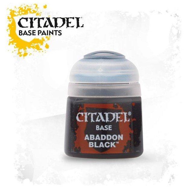 Citadel Base: ABADDON BLACK 21-25