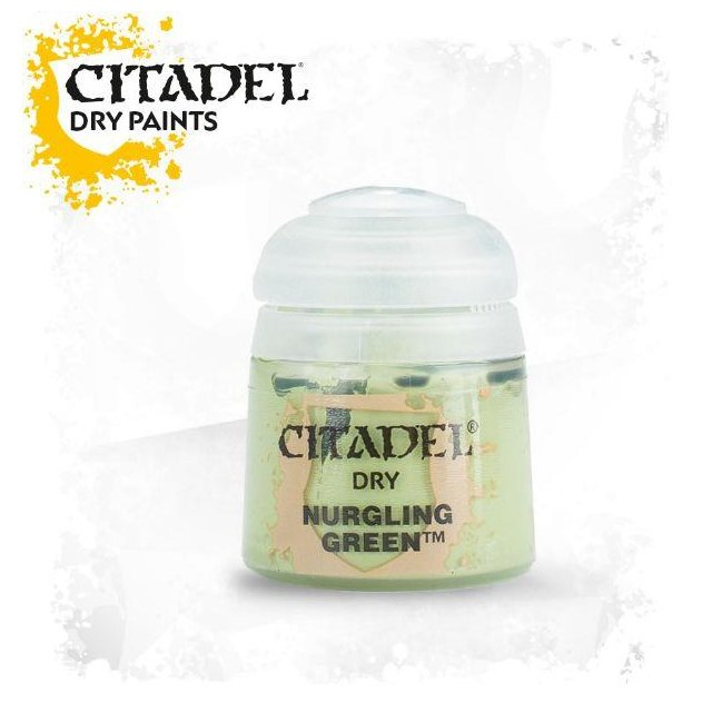 Citadel Dry: NURGLING GREEN 23-25