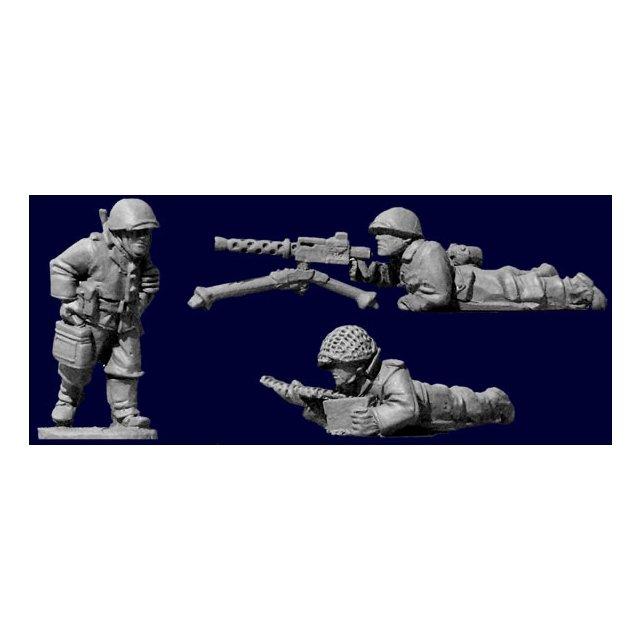 U.S. Infantry 30 Cal. Team (1 & crew)