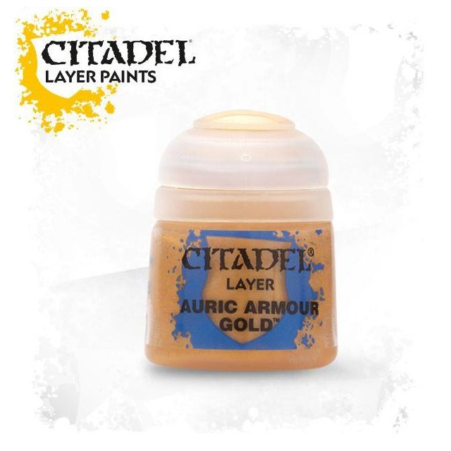 Citadel Layer: AURIC ARMOUR GOLD 22-62