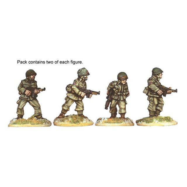 U.S. Airborne S.M.G.s (4)