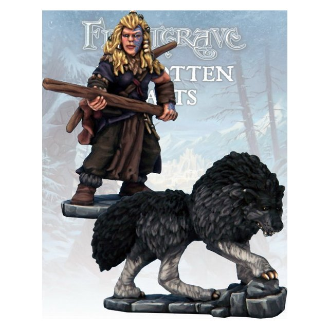 Barbarian Tracker & War Hound (2)