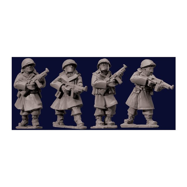 US Infantry in Greatcoats w S.M.Gs