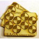 SAGA Fatigue Tokens - Round Shields