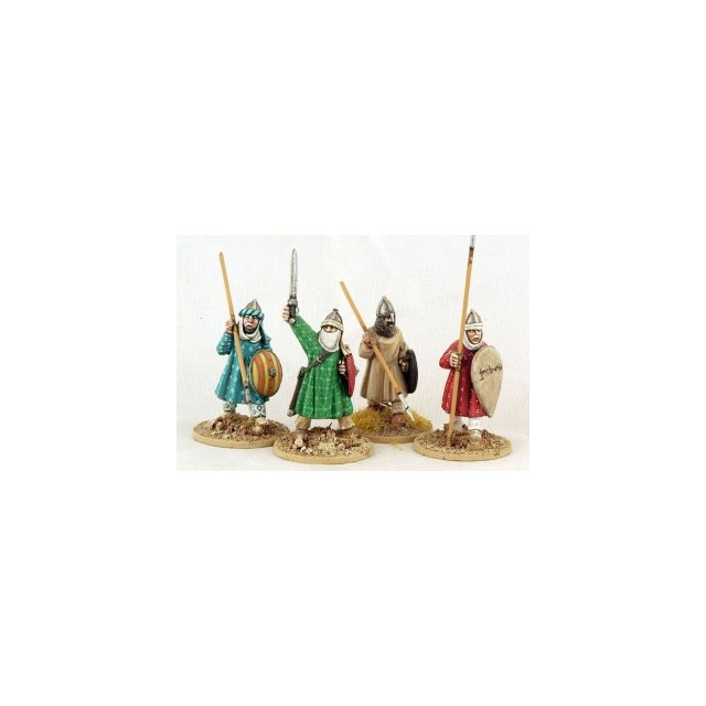 Andalusian spearmen, advancing (4)